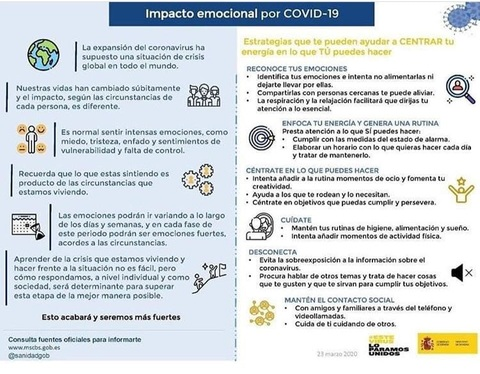 afesasturias.org -  RECOMENDACIONES COVID 19 - AFESA - Asociación de familiares y personas con enfermedad mental de Asturias