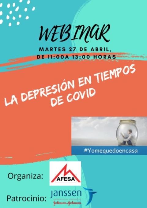 afesasturias.org -  WEBINAR : DEPRESIÓN TIEMPOS COVID - AFESA - Asociación de familiares y personas con enfermedad mental de Asturias